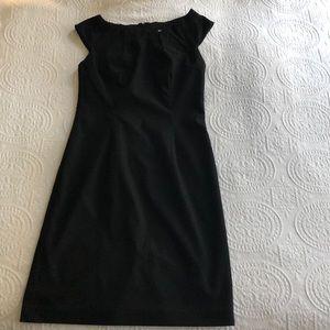 Classic little black dress. Cap sleeve